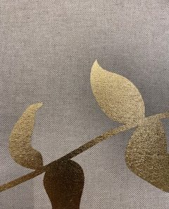 Linnen Flower Gold